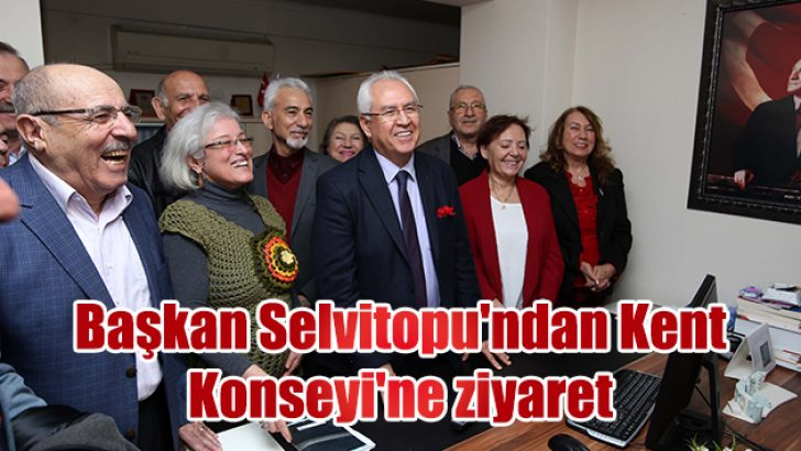 Başkan Selvitopu'ndan Kent Konseyi'ne ziyaret