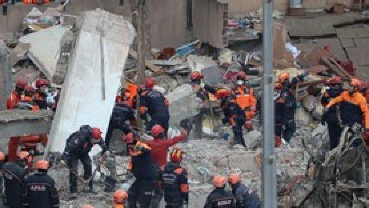 Kartal'da çöken binada hayatını kaybedenlerin sayısı 17'ye yükseldi