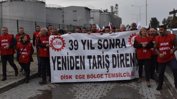TARİŞ işçileri 94 gündür direniyor