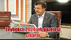 Zeybekci, 2024 yılı gazetesi çıkardı