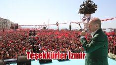 Teşekkürler İzmir