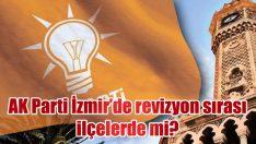 AK Parti İzmir'de revizyon sırası ilçelerde mi?