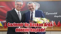 Gaziemir'de Başkan Arda dönemi başladı!