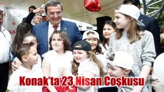 Konak'ta 23 Nisan Coşkusu