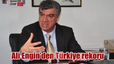 Ali Engin Türkiye rekoru kırdı