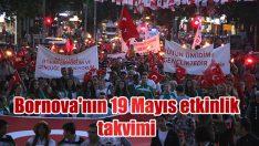 Bornova'da 19 Mayıs coşkuyla kutlanacak