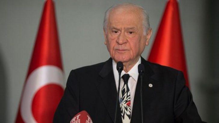 Bahçeli: Ekrem İmamoğlu'nun sloganı çok yanlış