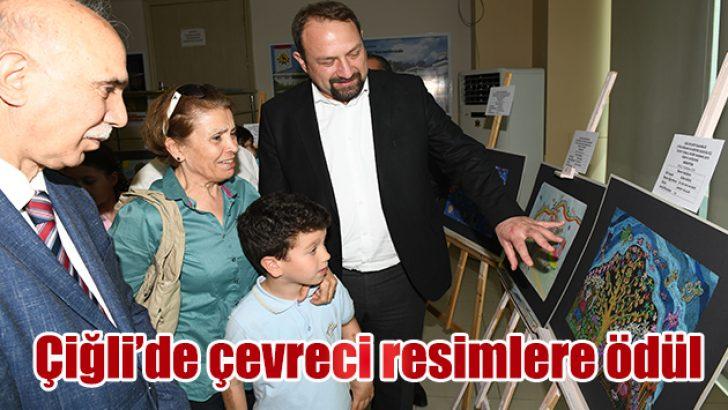 ÇEVRECİ RESİMLERE ÖDÜLLERİ VERİLDİ