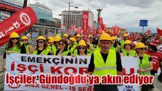 İşçiler, Gündoğdu'ya akın ediyor