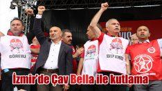 İzmir'de 1 Mayıs coşkusu