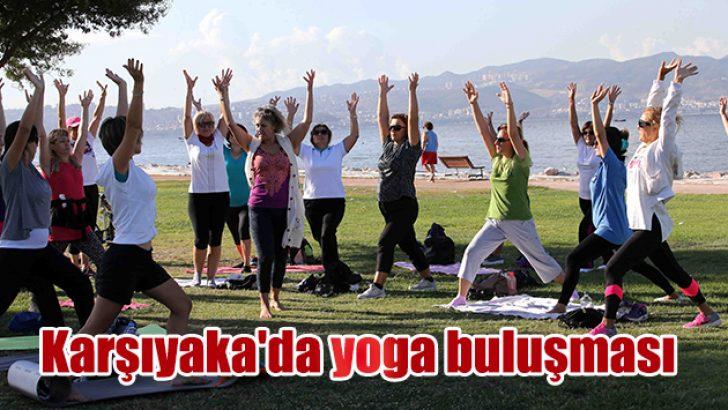 'Matınızı alın gelin!' Karşıyaka'da yoga buluşması