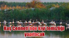 Kuş Cenneti'nde kıyı temizliği yapılacak