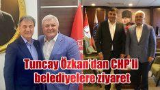 Tuncay Özkan'dan ilçe turları