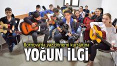 Bornova'da yaz dönemi kurslarına yoğun ilgi