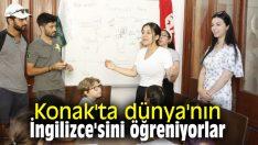Konak'ta dünya'nın İngilizce'sini öğreniyorlar