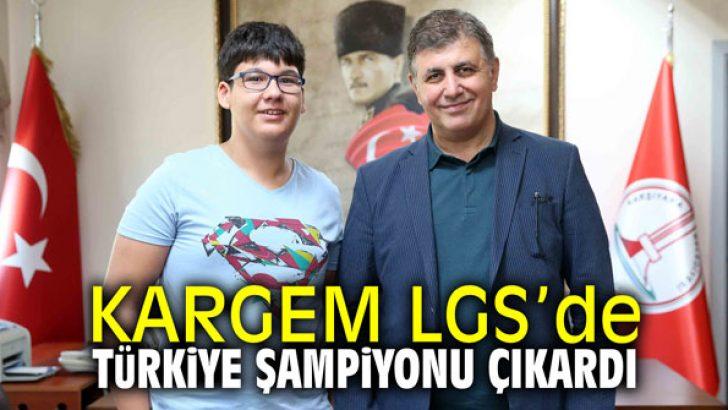 KARGEM, LGS'de Türkiye şampiyonu çıkardı