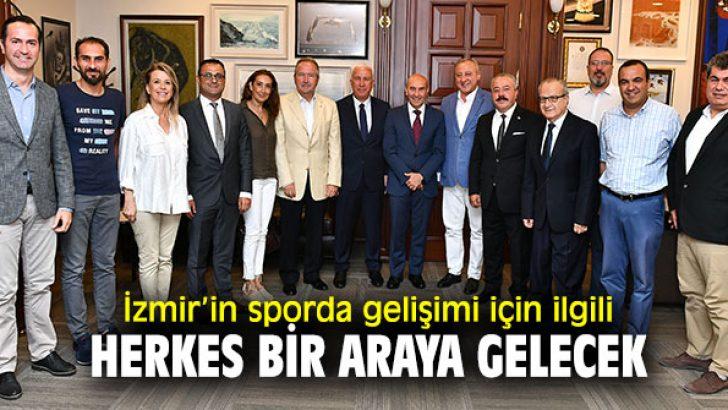 Başkan Soyer'e İZVAK'tan ziyaret