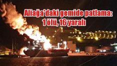 İzmir'de feci yangın