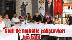 Çiğli'de mahalle çalıştayları başladı!