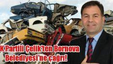 AK Partili Cesim Çelik'ten Bornova Belediyesi'ne çağrı!