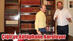 Çiğli'ye kütüphane kuruluyor