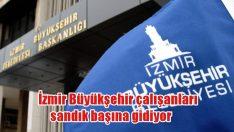 İzmir Büyükşehir Belediyesi çalışanları sandık başına gidiyor
