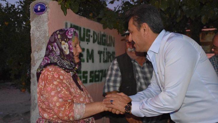 Başkan Kırgöz'den Gece Mesaisi
