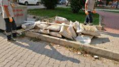Bornova'da çevre kirliliğini önlemek için gerekli önlemler alınıyor.