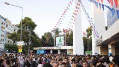 İzmir yeni yaşını fuarda kutladı