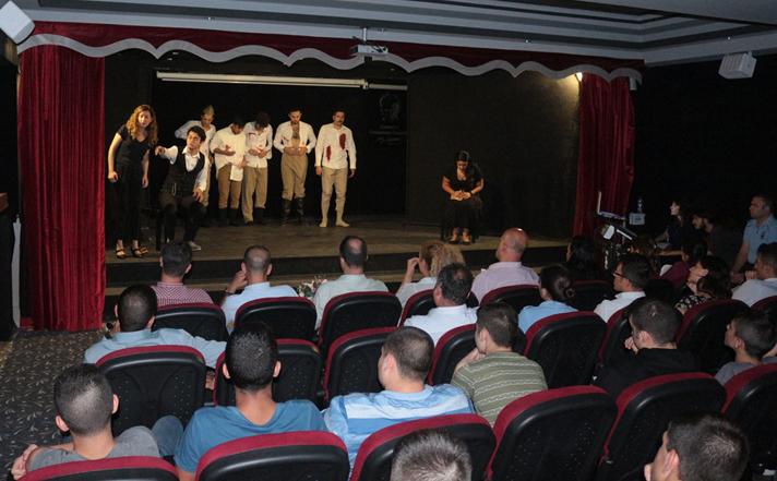 ''Kuvayı Milliye Destanı'' çocuk mahkumlar için sahnelendi