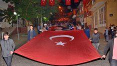 Beydağ'da Fener Alayı Yürüyüşü