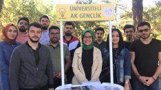 """AK Gençlikten Kampüse Hoşgeldin"""
