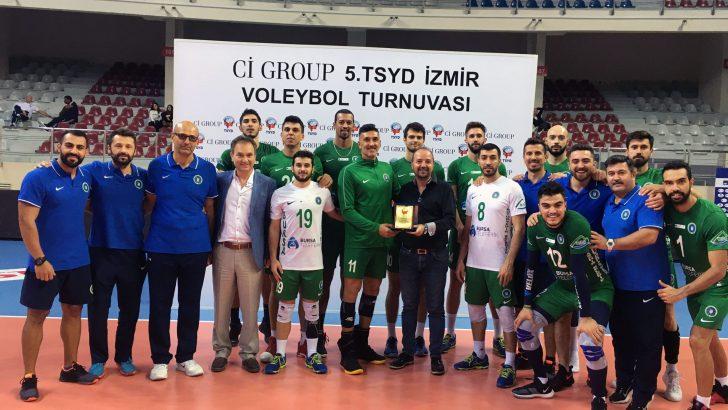 TSYD Voleybol Turnuvası'nda heyecan sona erdi