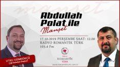 Abdullah Polat'ın konuğu Başkan Gümrükçü olacak