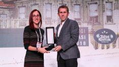 Konak'a Tarihi Kentler Birliği'nden ödül