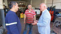 Başkan Karakayalı'dan Sanayi Ziyareti