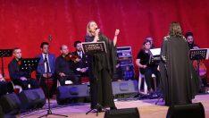 Atatürk Gaziemir'de sevdiği şarkılarla anıldı