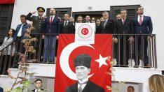 """BAŞKAN OĞUZ: """"ATAMIZIN DOĞDUĞU EVDE OLMAK GURUR VERİCİ"""""""