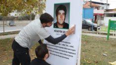 Gaziemir'de yıpranan tabelalara müdahale