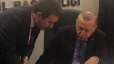 Başkan Koştu vizyon projeleri Cumhurbaşkanı Erdoğan'a anlattı