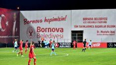 Bornova Stadı'nda ilk milli maç heyecanı
