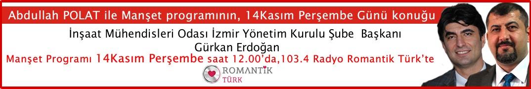 Gürkan Erdoğan Radyo Romantik Türk'te
