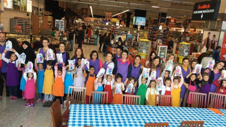 Özdilek İzmir AVM 'de Yılbaşı Aile Atölyeleri Başladı