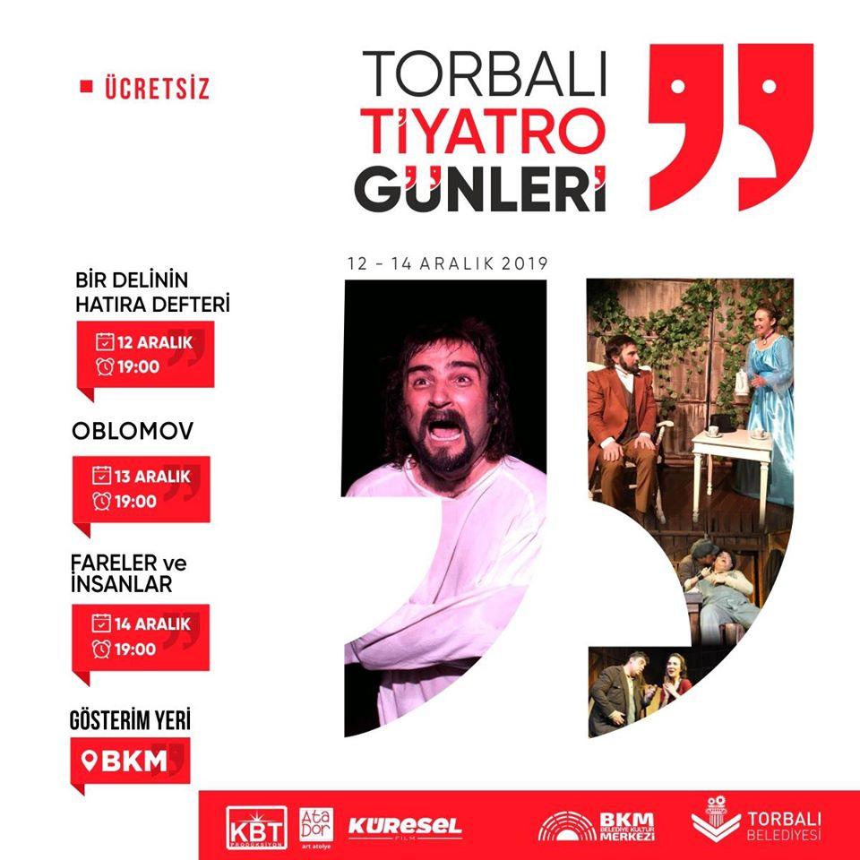 Torbalı'da tiyatro günleri