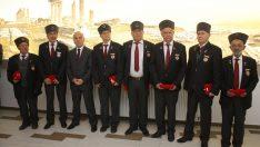 Bergamalı Kıbrıs Gazileri'ne madalya  45 yılın gururu