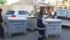 Karabağlar'da konteynerler yenileniyor