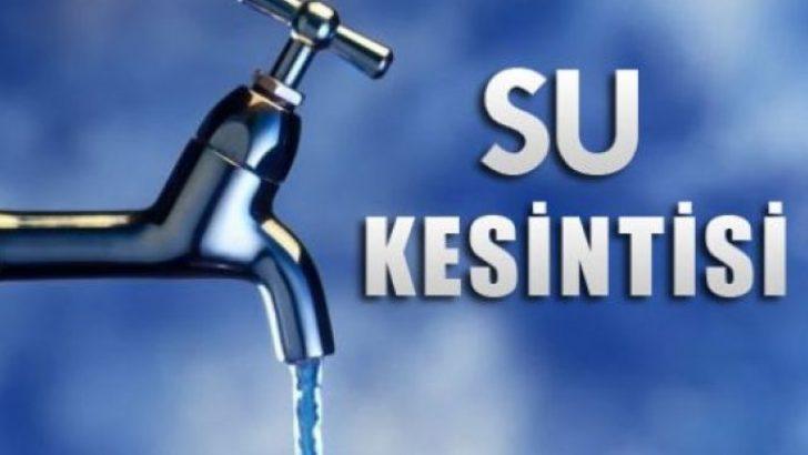 Bornova'nın bazı mahallelerinde su kesintisi