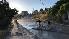 Bornova Belediyesi 9 ayda 105 bin metrekare yol çalışması yaptı