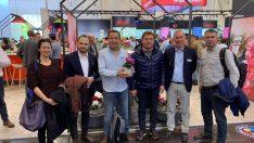 Bayındır Belediye Başkanı Uğur Demirezen Essen'deydi