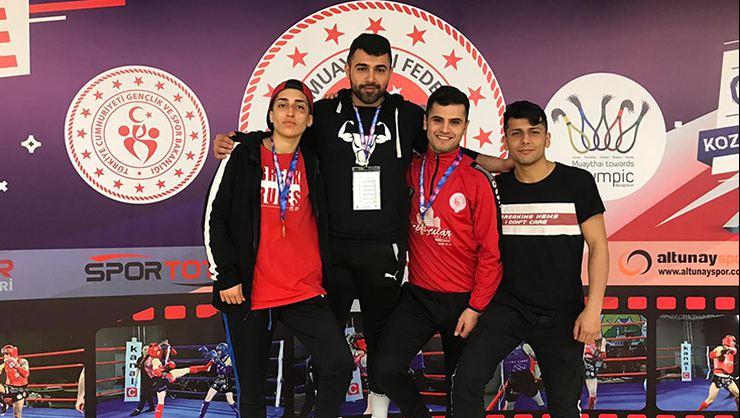 Turgutlulu Sporcu Türkiye Şampiyonu
